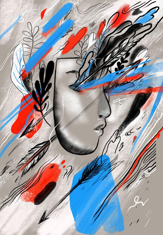 Illustration, digital painting
