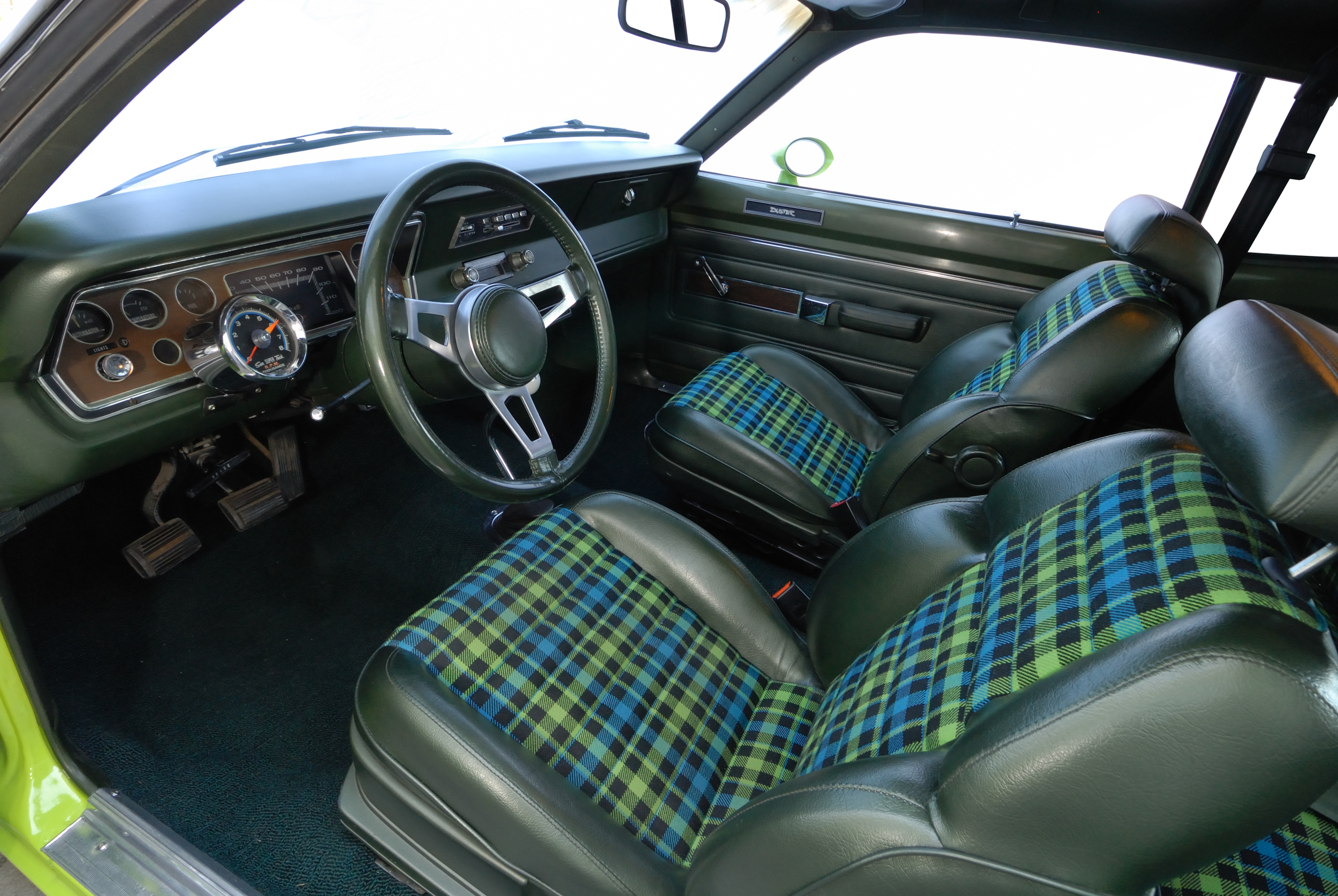 Interior restored by Brian