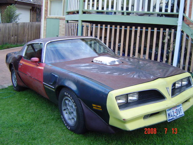 Before.  After finishing this classic trans am.  The whole family love its easy cool ride.