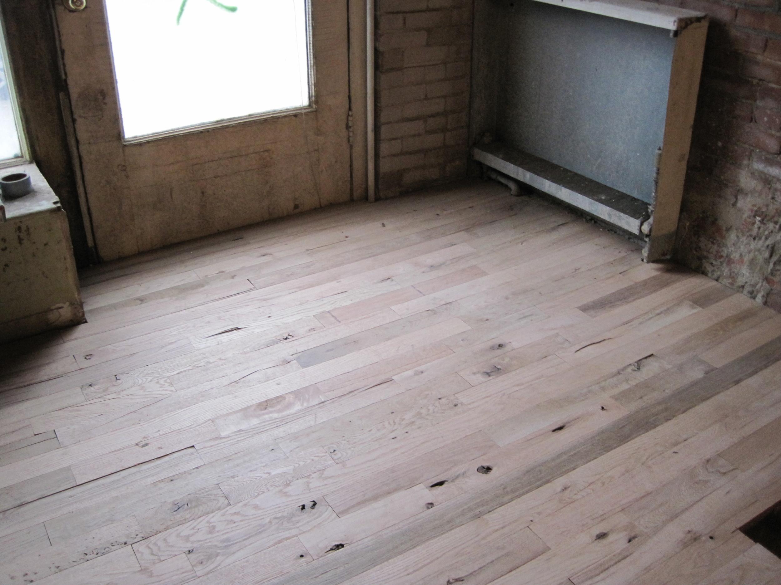 More hardwood.