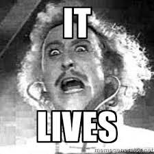 Rest in Peace Gene Wilder. From my favorite movie Young Frankenstein