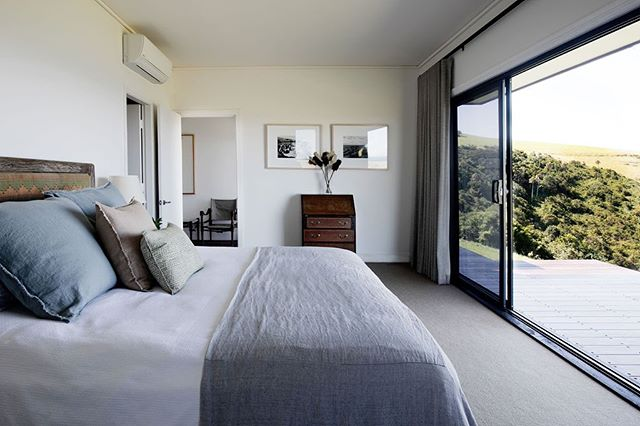 R E L A X ⁣⠀ Take in the views from the master bedroom. Or just roll over for a few more minutes of snoozin time⁣⠀ ⁣⠀ ⁣⠀ #oceanfarm #southcoastholidays #southcoastgetaway #southcoastnsw #nswcoast #seachange #holidaystyle #farmlife #farmstyle #luxurystay #luxurytravel #southcoaststyle #visitsouthcoastnsw⁣⠀