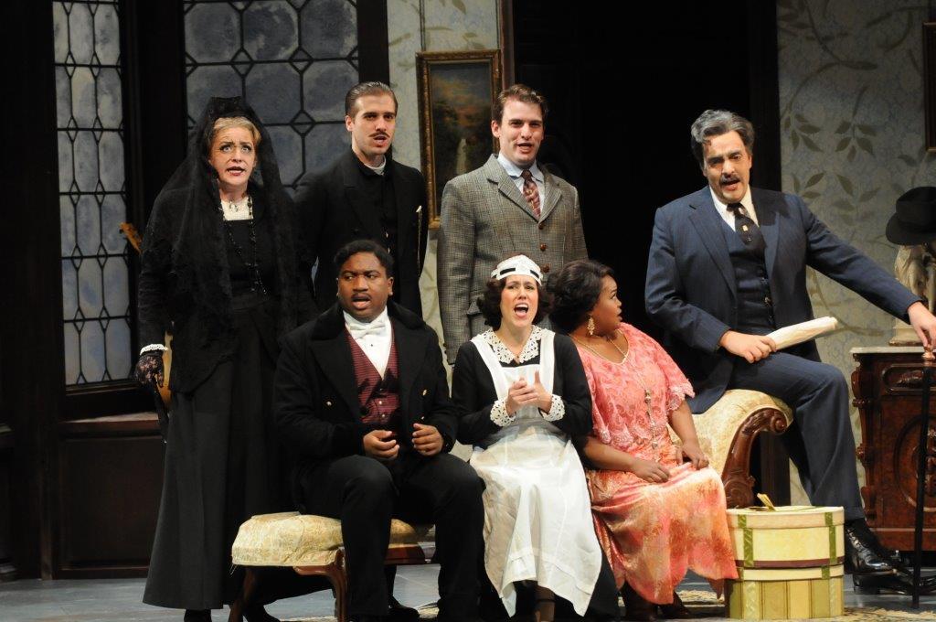 Karina as Susanna in Le Nozze di Figaro with Central City Opera