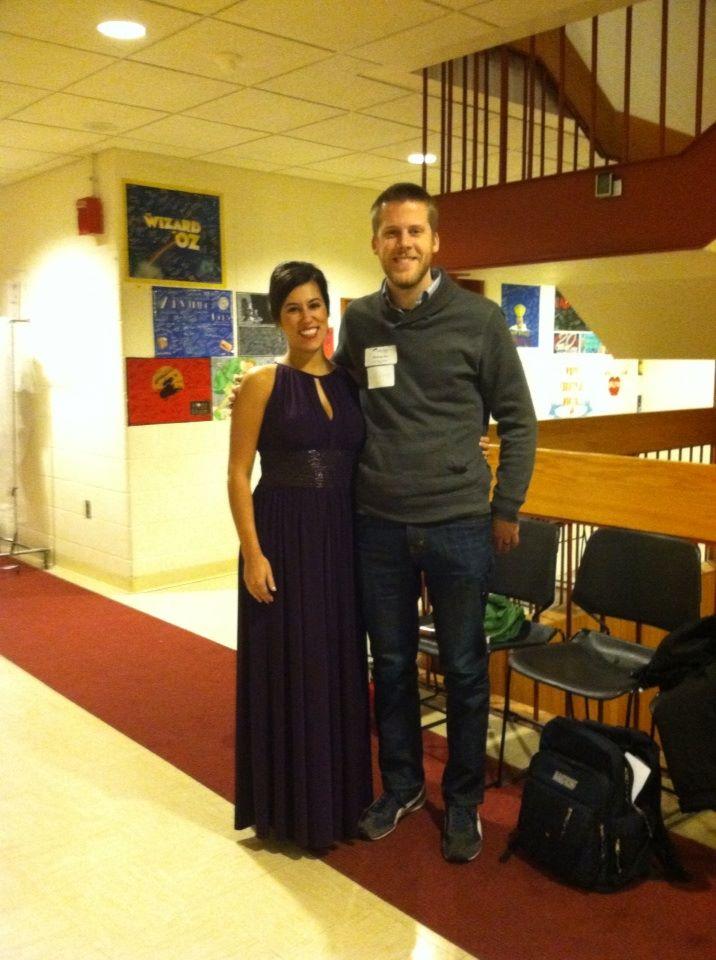 Backstage at the Metropolitan Opera National Council Regional Finals