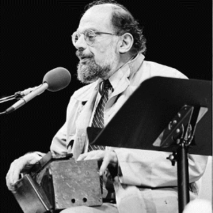 Allen Ginsberg, 1985 (Photo: Wikimedia- MDCarchives )