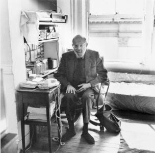 Allen Ginsberg  (Photo by  Ellen Denuto)