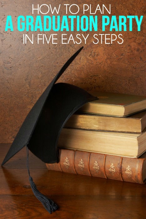 HOW TO PLAN A GRADUATION IN FIVE EASY STEPS!