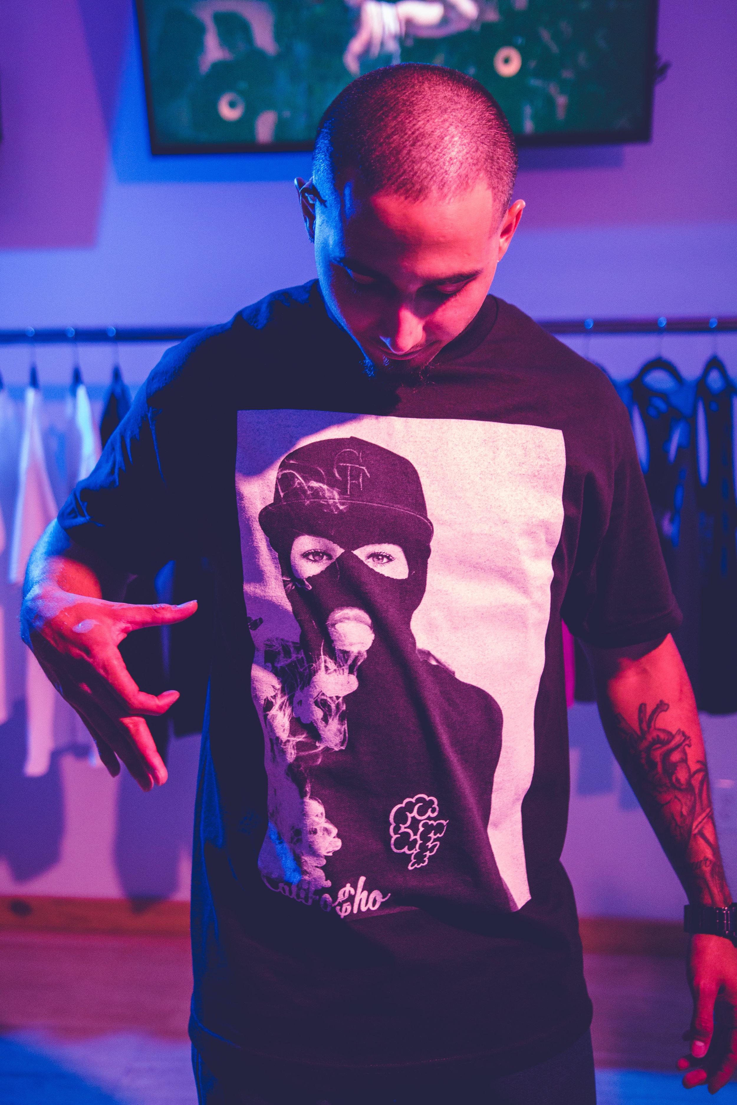 Cali Fosho Smoke Box New T Shirt Shoot at The Shop-9508.jpg