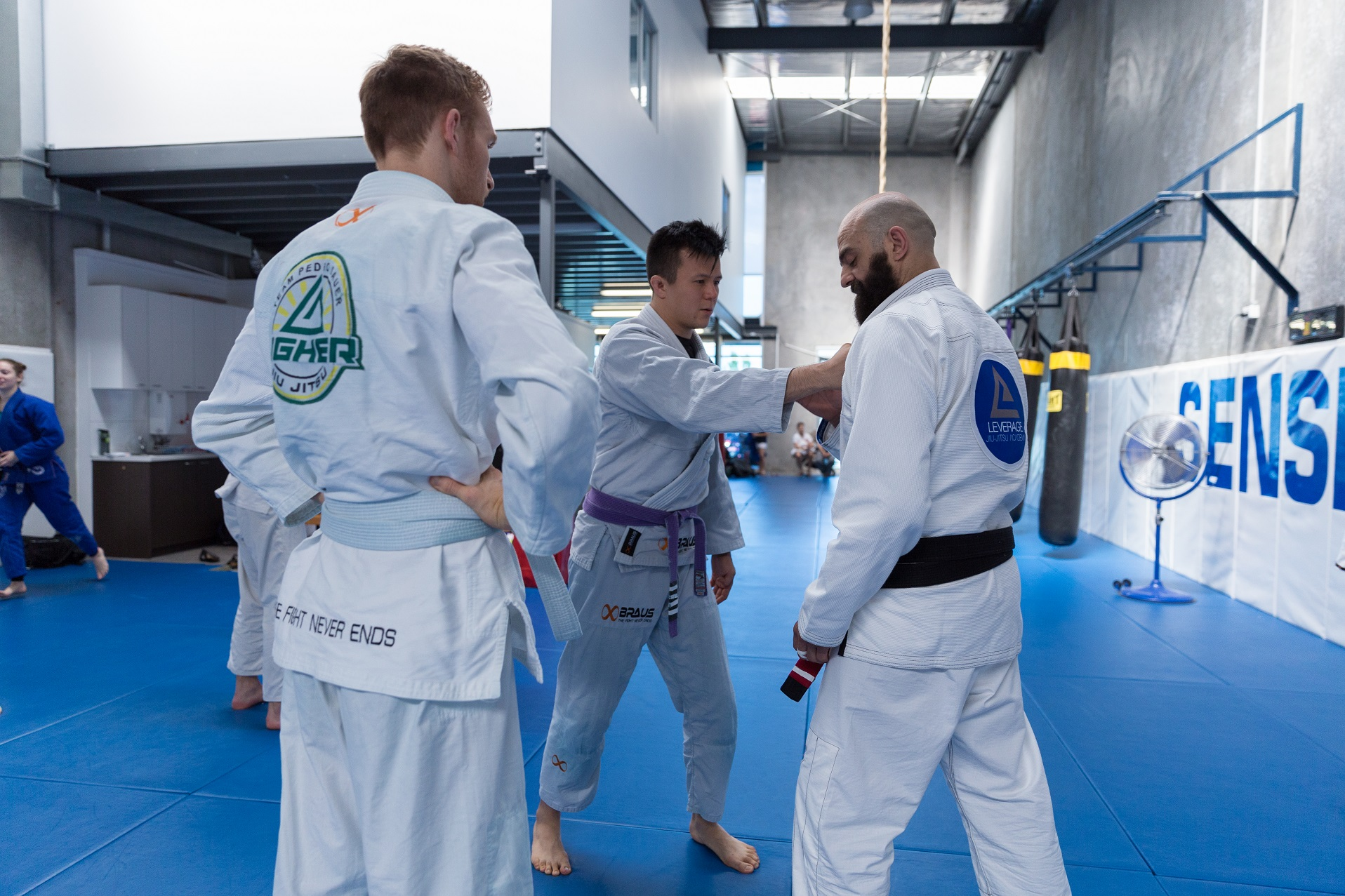 Leverage Jiu Jitsu Camp