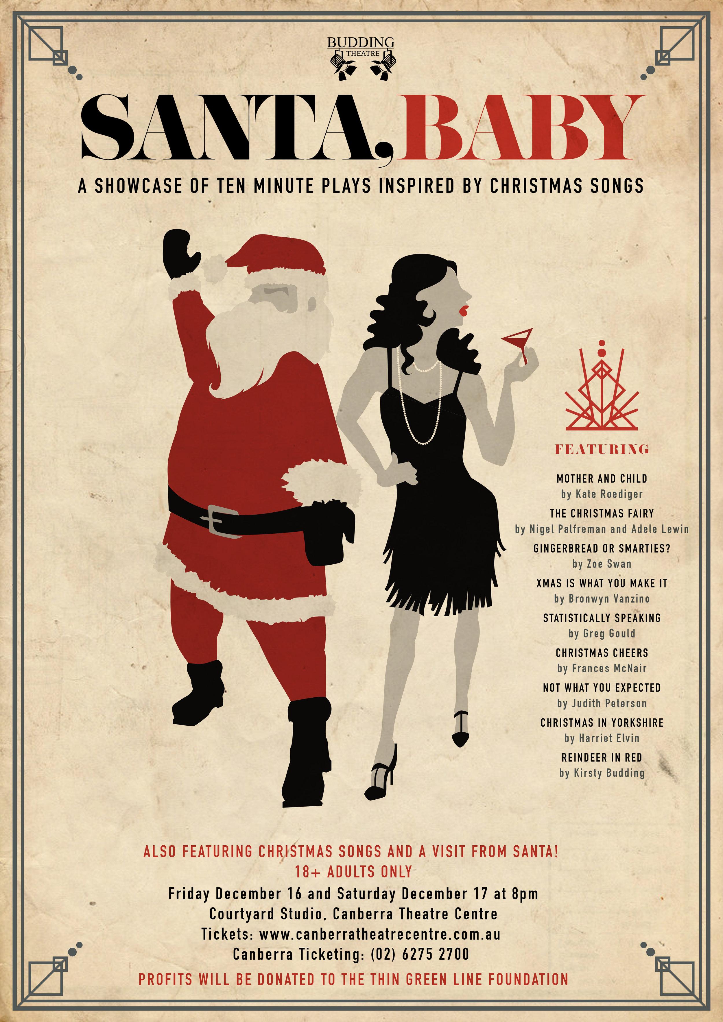 Santa Baby Budding Theatre