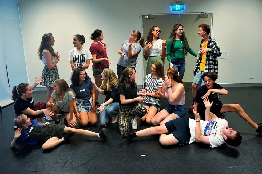 Budding Theatre Canberra Teen Drama Classes ages 13-18 Tutor Kirsty Budding Romeo and Juliet.jpg