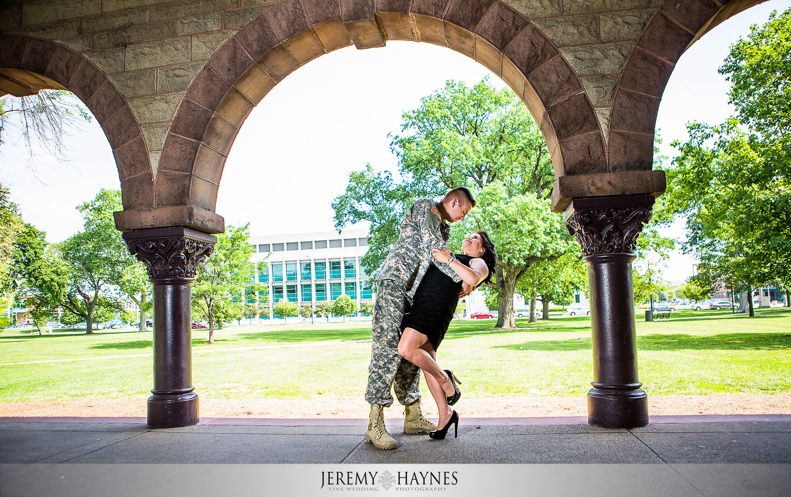 Emily + Chris Downtown Canal Indianapolis, IN Engagement Pictures 9.jpg