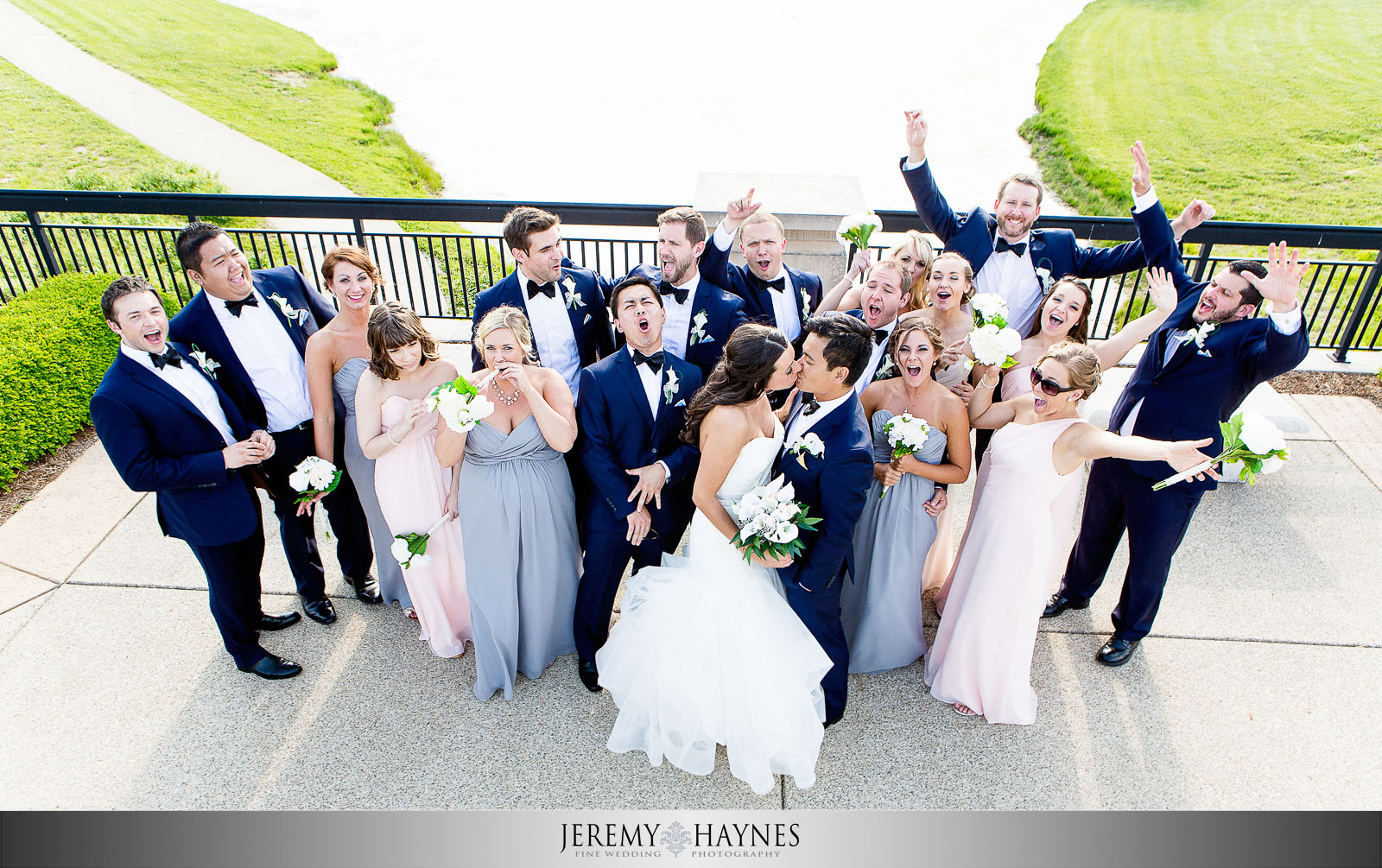 silly-wedding-party-photos-coxhall-gardens
