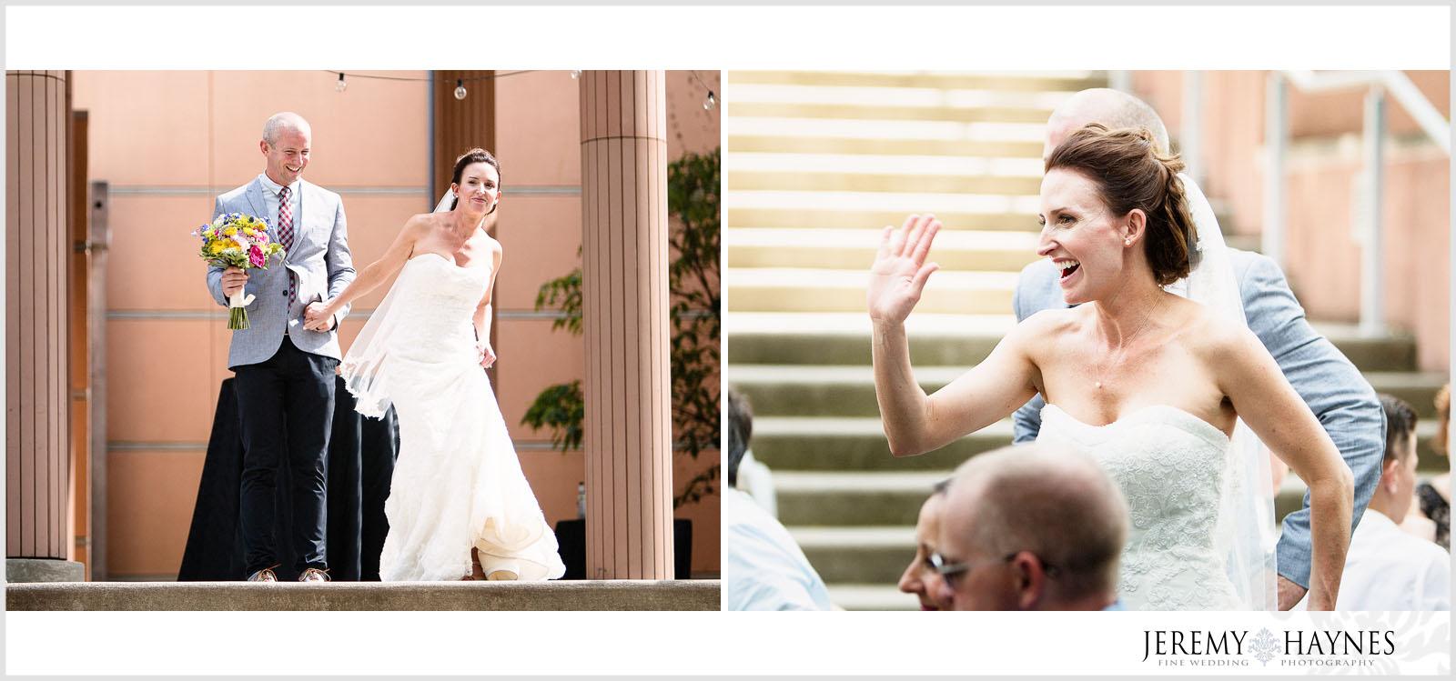 wedding-party-entrance-indianapolis-arts-center