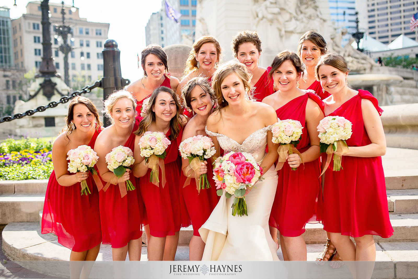 fun-wedding-bridal-party-group-photos-monument-circle.jpg
