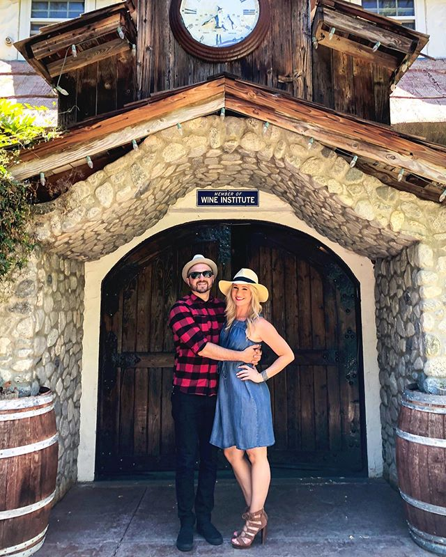 Have I mentioned how much I love our life 💕 So thankful I get to live life next to you @anthonybarro 😍 @briarrosewinery