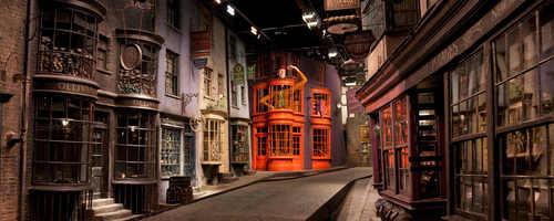 @Warner Bros. Studio, Beco Diagonal.
