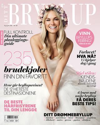 I 2014 utgaven av Ditt Bryllup som kom ut i februar 2014 kan du lese noen av mine tips til bryllupet.