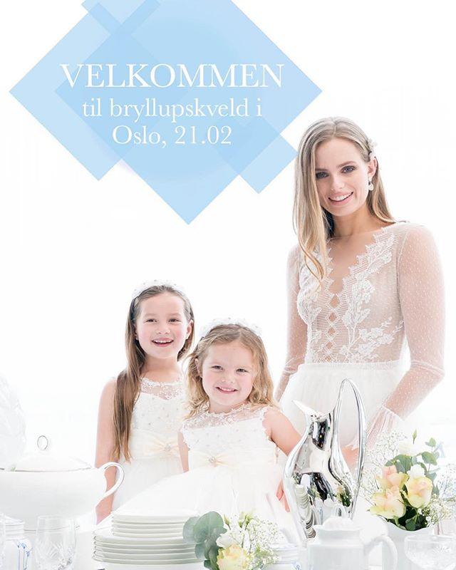Har du, eller kjenner du noen med gifteplaner i Oslo-området? Christiana Glassmagasin ønsker velkommen til bryllupskveld i butikk med masse inspirasjon, tips og premiedryss🌟  Meg selv og @whitebygreen skal også være der og vil være tilgjengelige om dere ønsker tips og råd om kjole eller planlegging😃 meld dere på, så håper jeg vi ses!👏🏼🖤 Påmeldingsinfo: https://www.cg.no/digitalt-magasin/bryllupskveld-i-oslo/  Eller send Mail til : katrine.steiro@cg.no , vær rask er bare noen få plasser igjen 👍🏻
