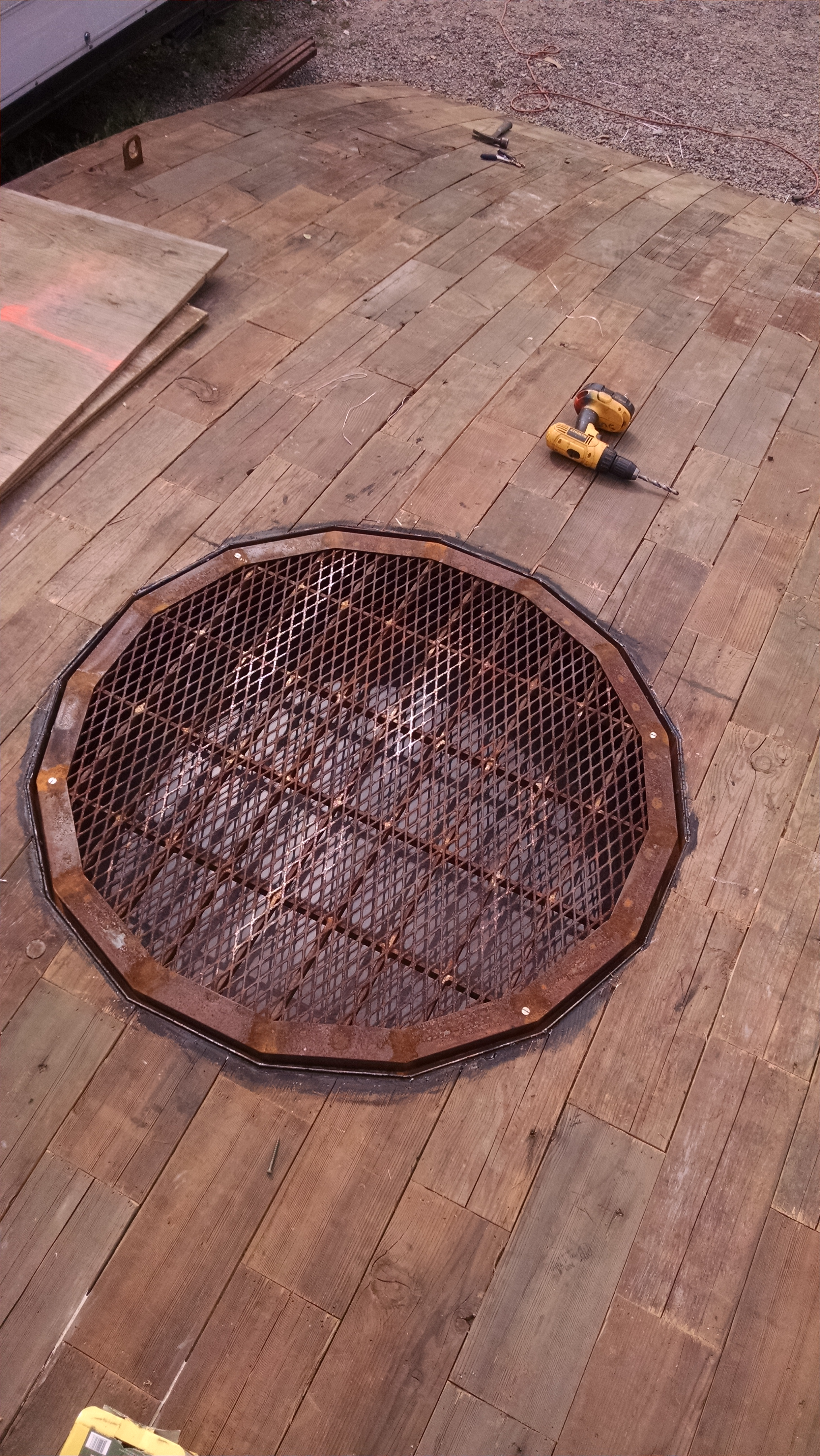 Manhole in there