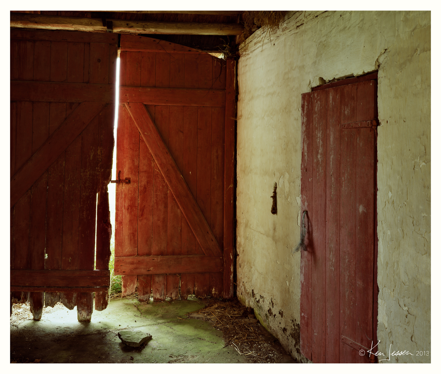Stable Doors at Abandoned Farm