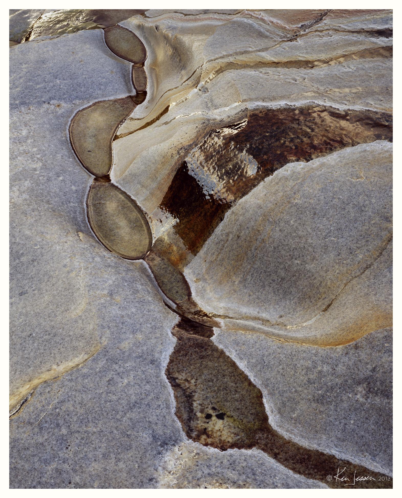 String of Pools on Granite