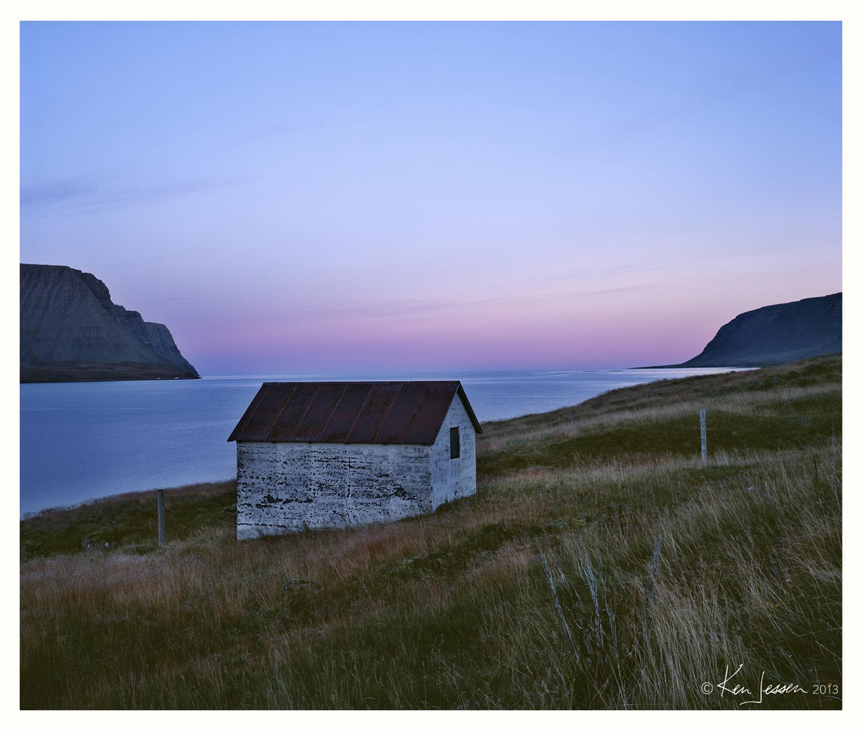 Boathouse at Sunrise