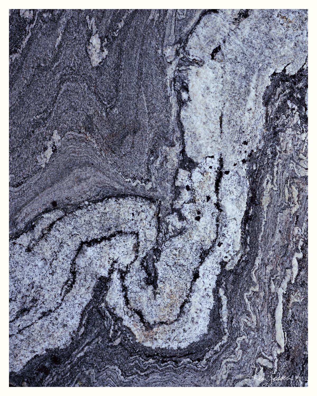 Detail, Gneiss Boulder