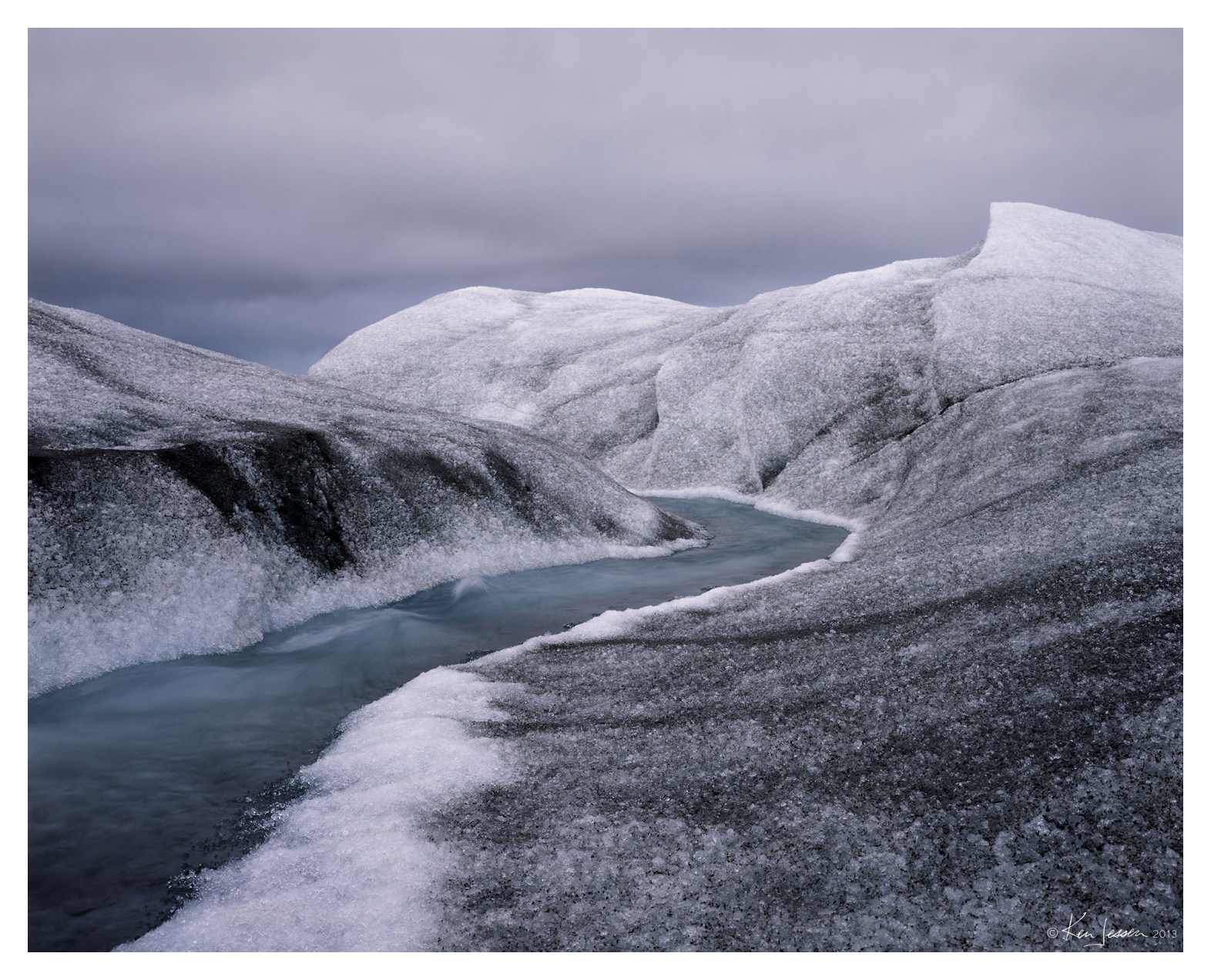 Greenland Melt Stream