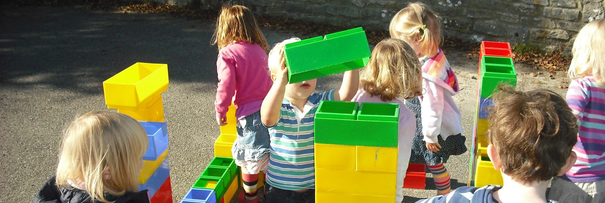 ...building brick by brick