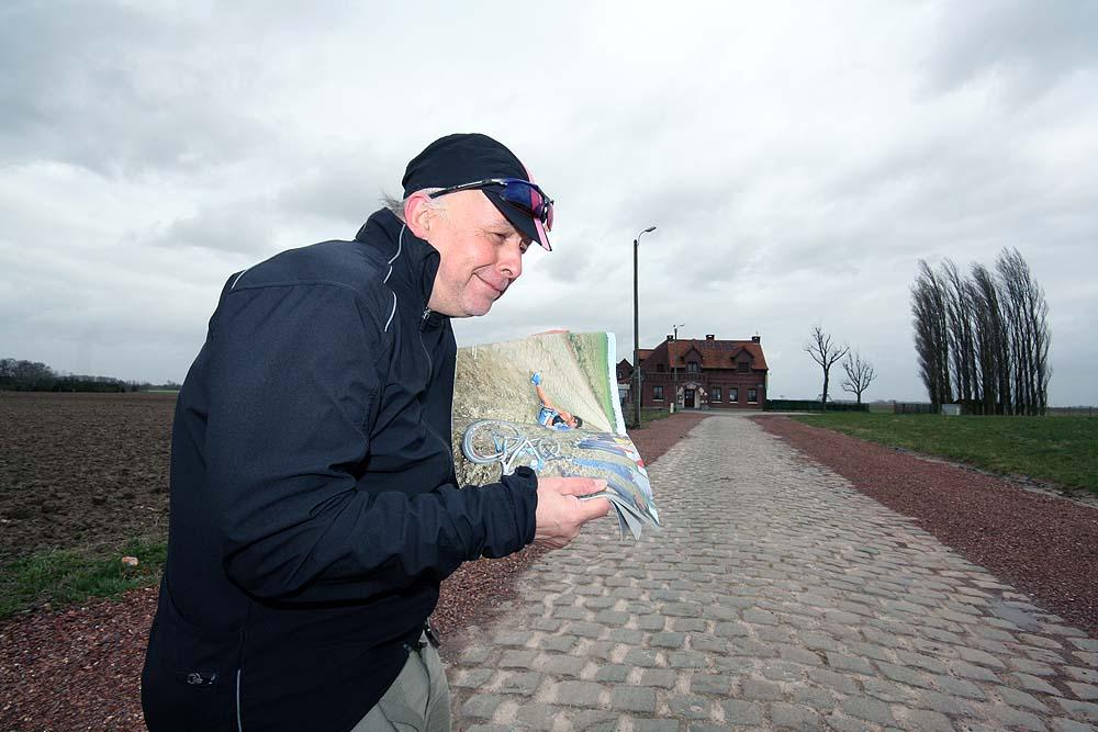 John at Paris Roubaix