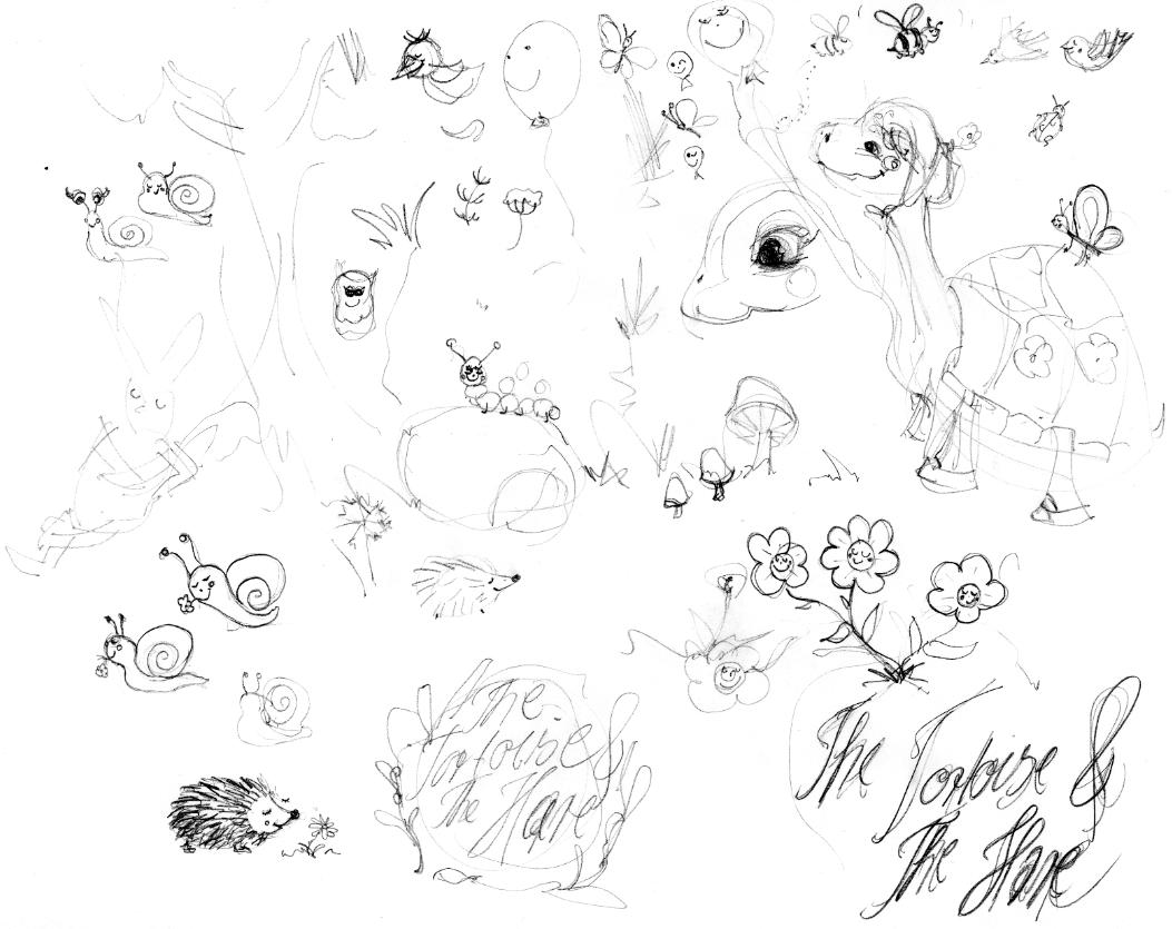 sketching Teresa's world