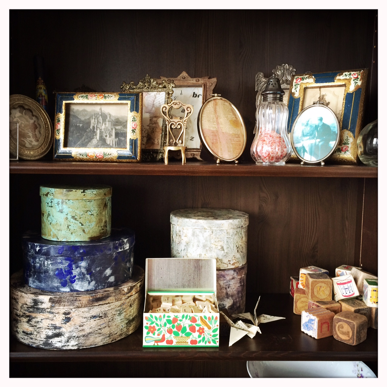 View of my shelf