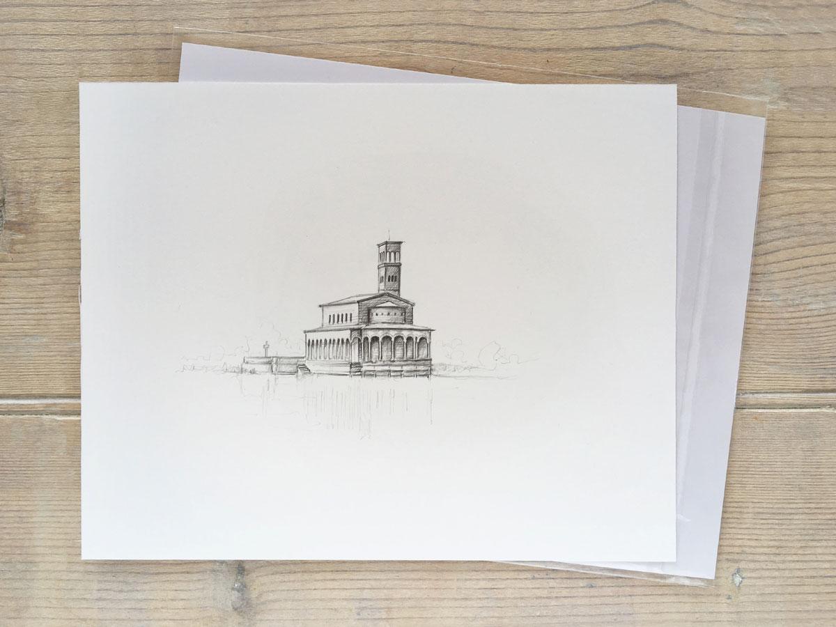 Example unframed illustration $280