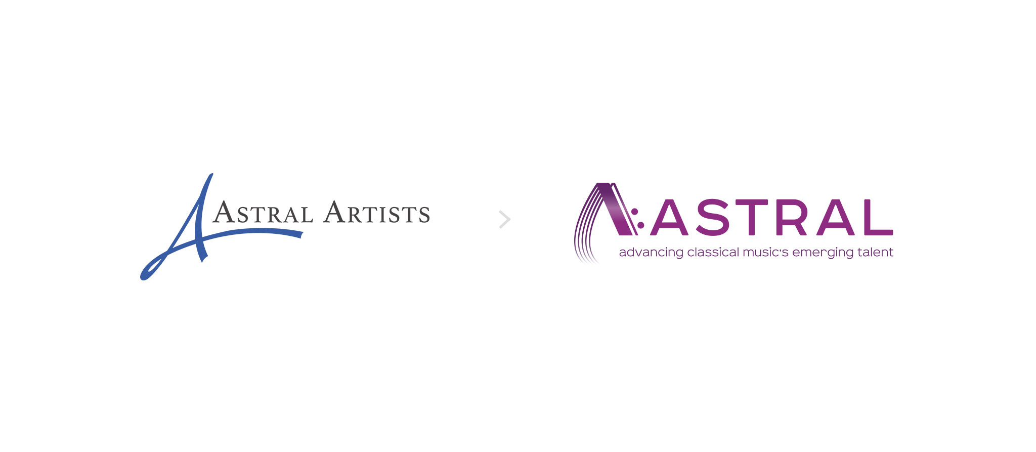 Astral logo rebrand graphic