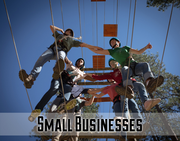 Small business staff often work in tight quarters with roles that intertwine. The Course is ideal for helping staff work together towards a common goal and appreciate each other's strengths.