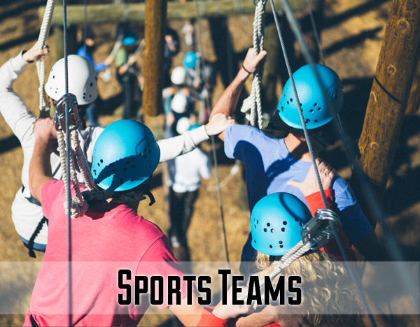 A great team is one that knows how to work together and lean on one another. With sports teams, we work towards establishing trust, teamwork and appreciating one another's strengths.