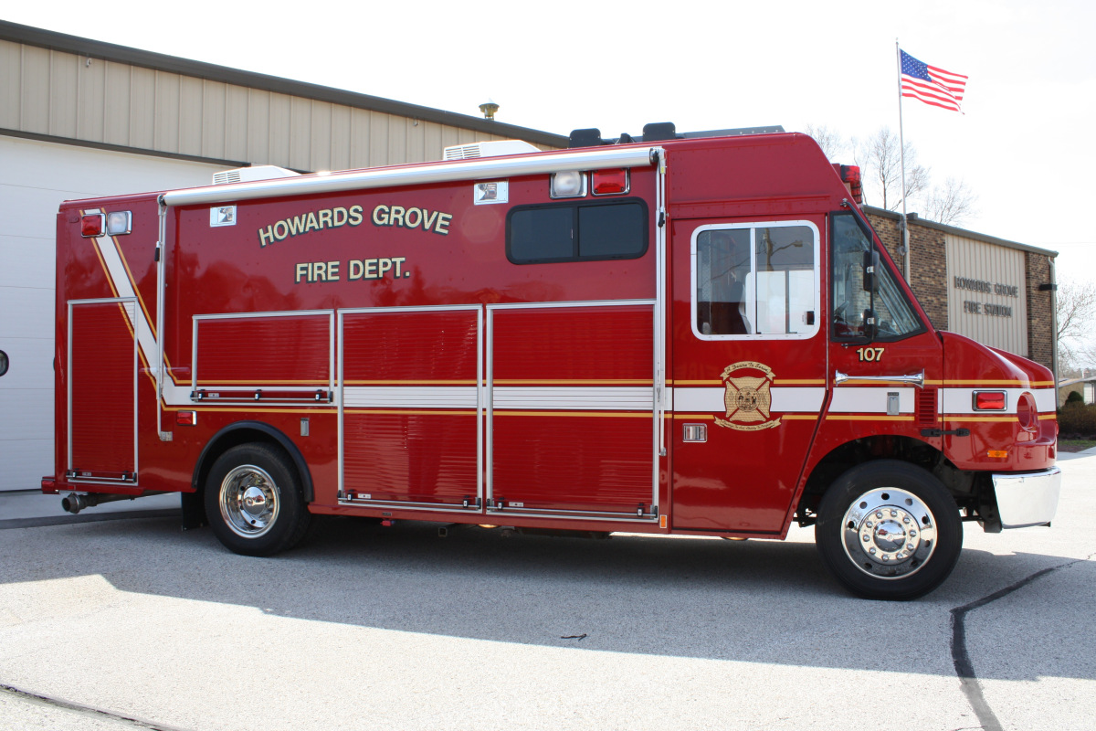 2009 Fire / Air Supply Truck