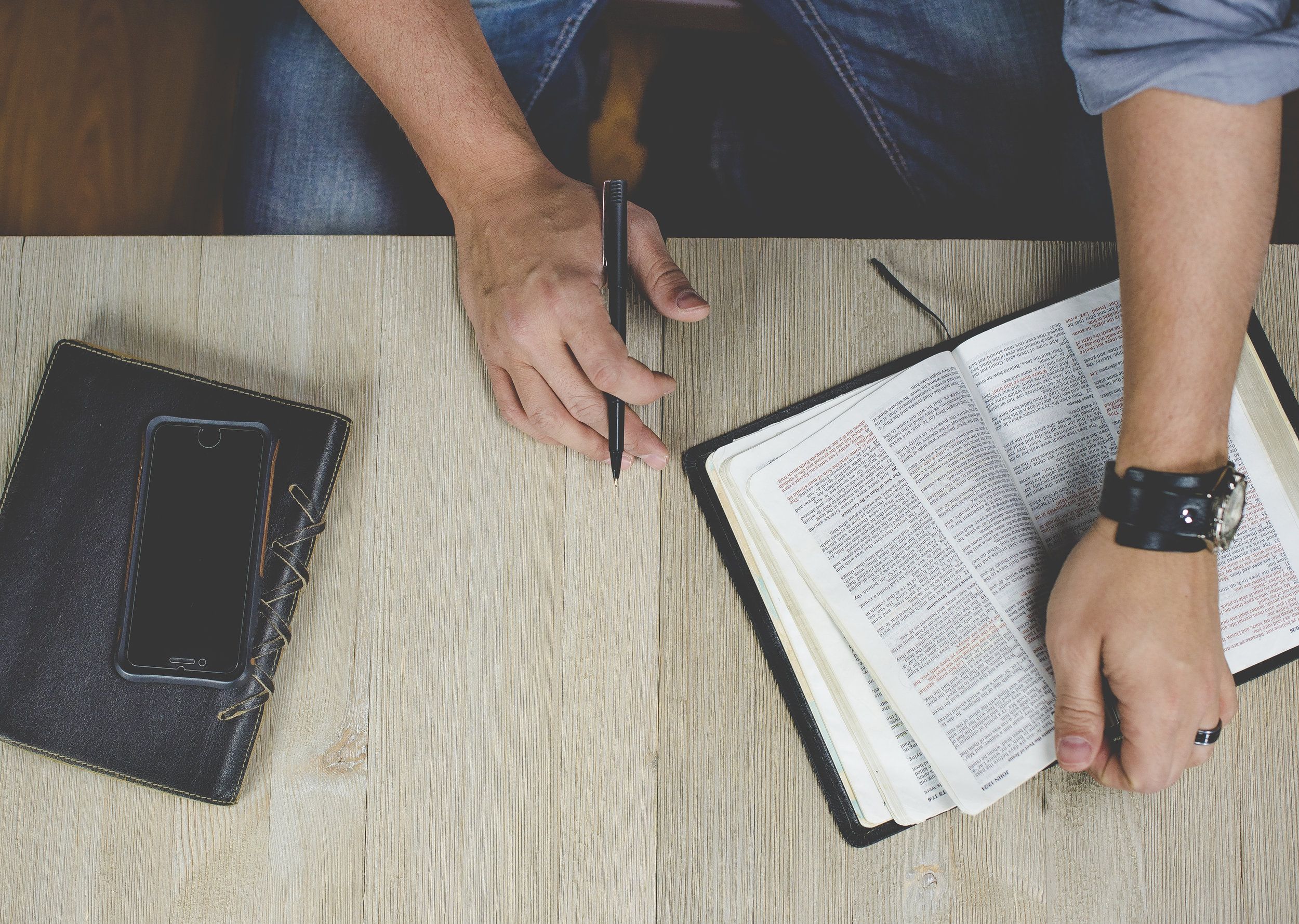 FUEL Men's Journaling - Every Tuesday @ 12pm at New Life Church