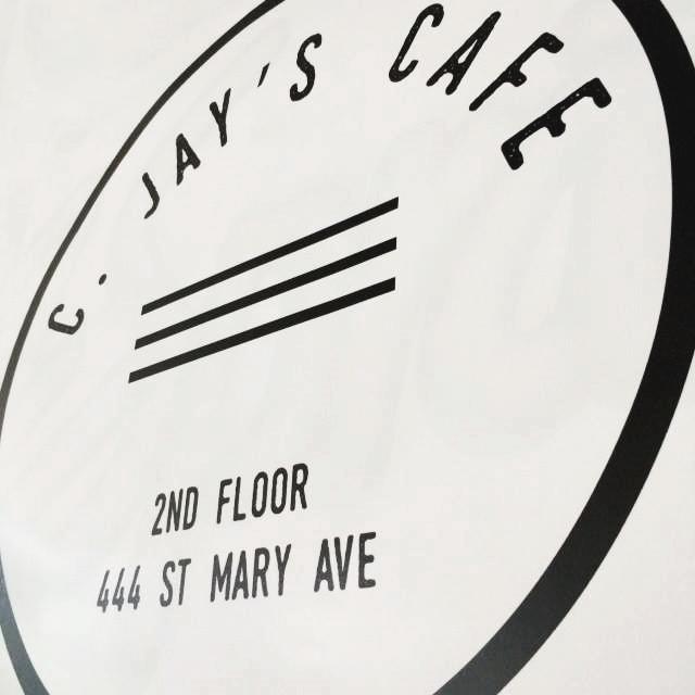 C Jays Cafe Timothys Winnipeg Signage.jpg
