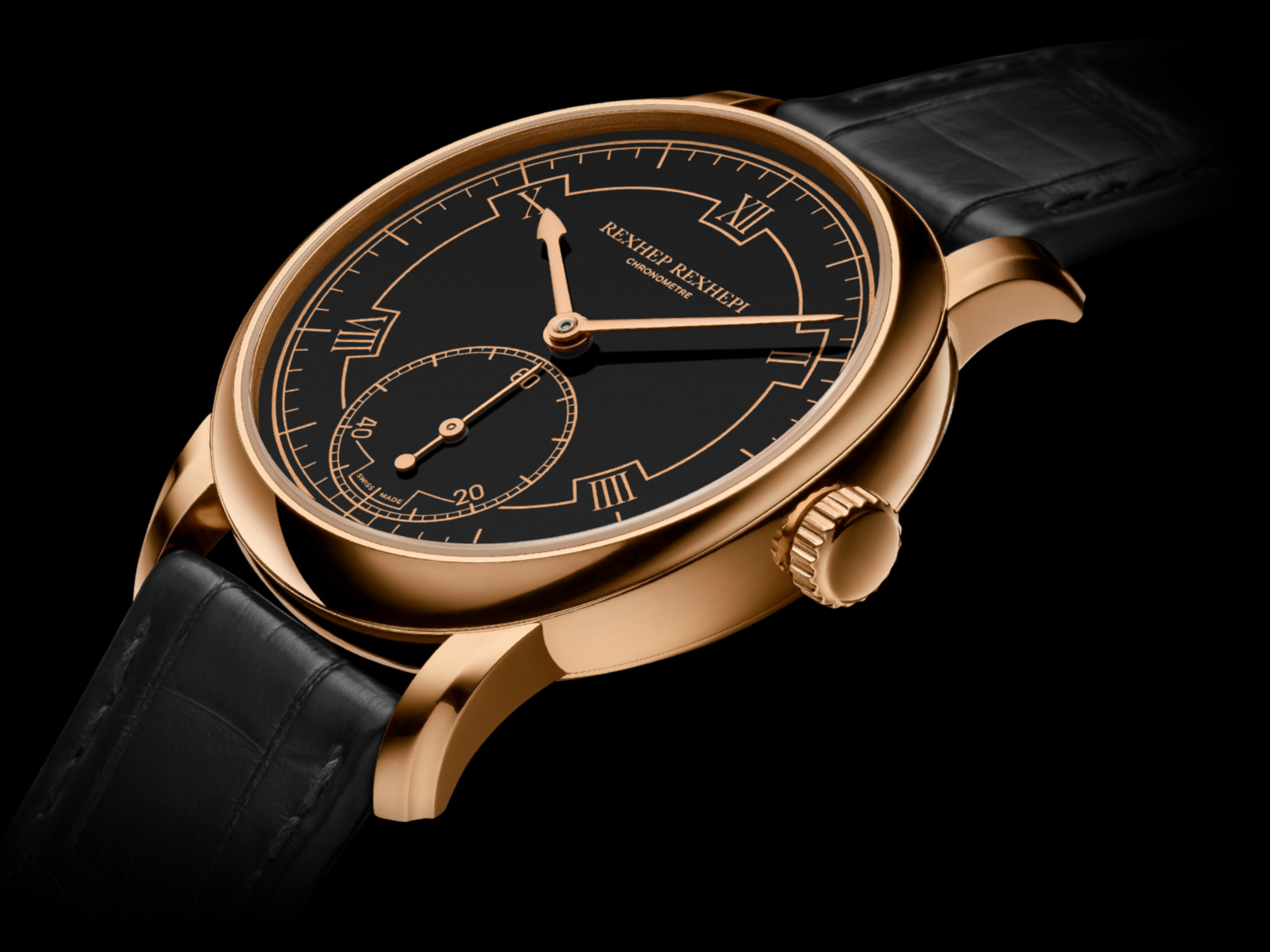 Centre stage  The beautiful Akrivia Chronomètre Contemporain launched at the Baselworld watch show 2018 has put talented watchmaker Rexhep Rexhepi in the spotlight of the most discerning watch collectors.