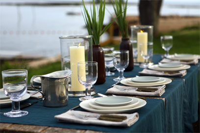 July Table setting by Didriks