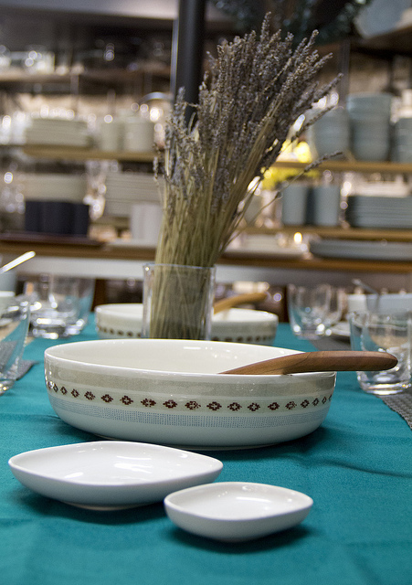 Weekly Table Setting: Verde