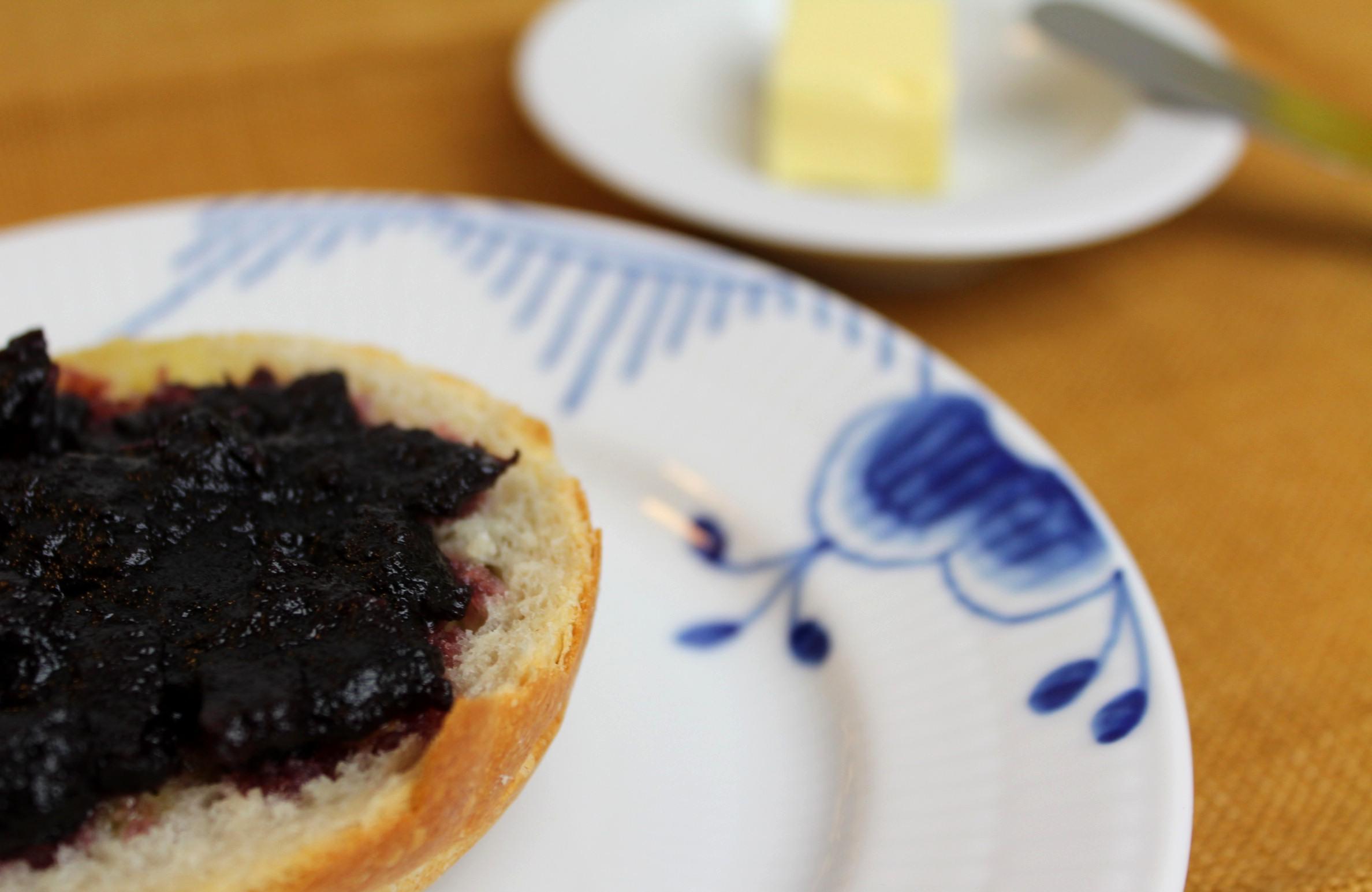 Royal Copenhagen   Blue Fluted Mega Bread and Butter Plate #2 ,  Pillivuyt Sancerre Butter Tray