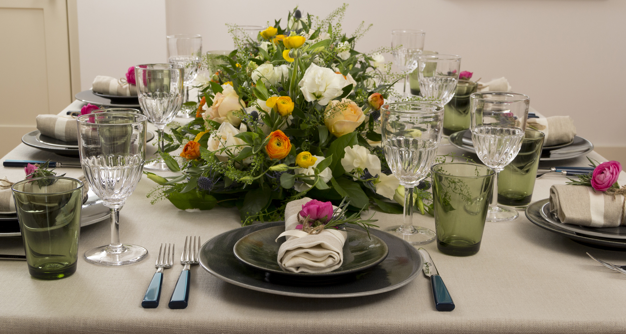 Gorgeous centerpiece from Laura Jean of Observatory Boutique and Floral Designs by Laura Jean