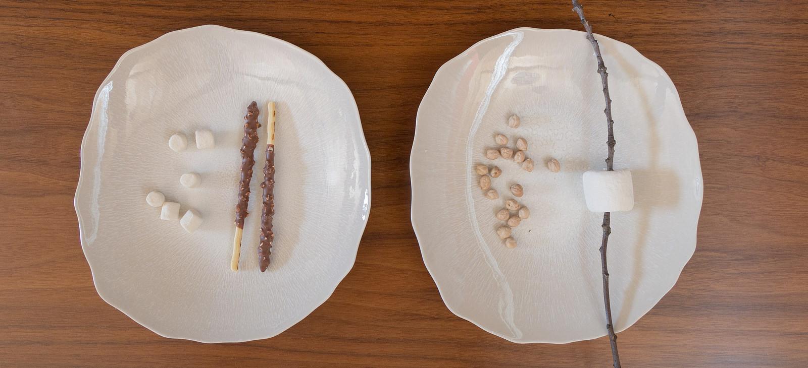 Jars Plume dinnerware