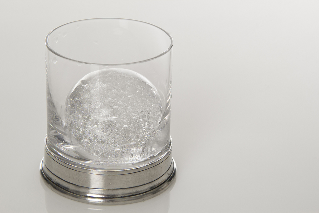 Match Pewter Double Old-Fashioned glass