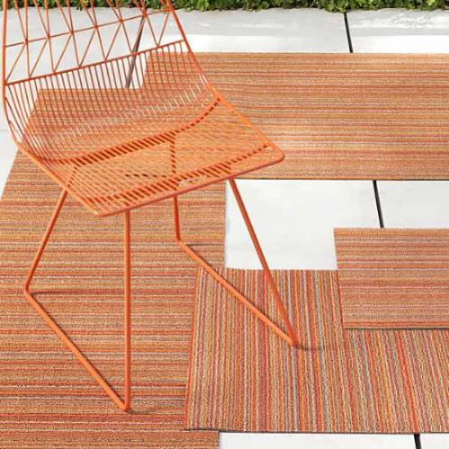 Chilewich utility mats in Orange