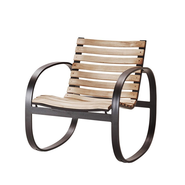 Parc Rocking Chair - Go all out for that special someone. This rocker is fashionable, comfortable and great for indoor and outdoor environments. Designed by Foersom & Hiort-Lorenzen it is a statement piece. $885