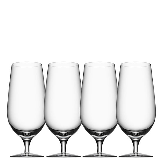 Stylish Beer Glasses - For the beer enthusiast, this set of glasses will complete the experience by enhancing the aroma of an ice cold lager. In addition, Orrefors offers a Pils, an IPA and a taster set. $50 Set of 4